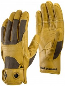 Black Diamond - Transition Glove - Klettersteighandschuhe Gr S orange/braun