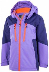 Color Kids - Kid's Vanne Jacket - Hardshelljacke Gr 110 lila/blau/rosa