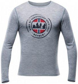 Devold - Breeze Shirt - Merinounterwäsche Gr L;M;S;XL;XXL grau;grau/blau;schwarz