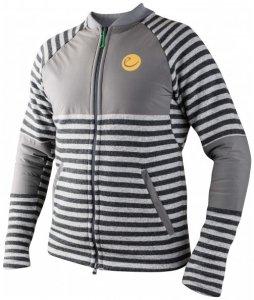 Edelrid - Creek Fleece Jacket - Fleecejacke Gr S grau/schwarz