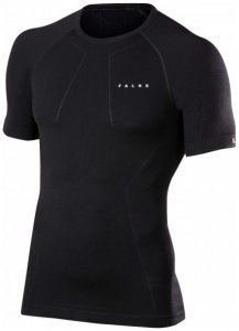 Falke - Wool-Tech Shortsleeved Shirt Comfort Gr L schwarz