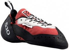 Five Ten - Dragon - Kletterschuhe Gr 1,5 schwarz/rot