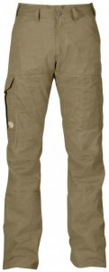 Fjällräven - Karl Trousers - Trekkinghose Gr 52 - Long - Raw Length oliv/braun/grau