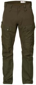 Fjällräven - Lappland Hybrid Trousers - Hardshellhose Gr 54 - Fixed Length schwarz