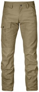 Fjällräven - Nils Trousers Gr 54 - Long - Raw Length grau/braun