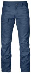 Fjällräven - Nils Trousers Gr 56 - Long - Raw Length blau