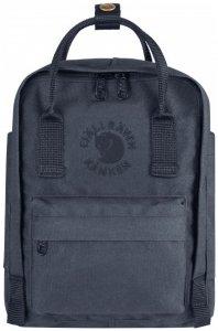 Fjällräven - Re-Kånken Mini - Daypack Gr 7 l schwarz/blau