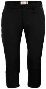Fjällräven - Women's Abisko Capri Trousers - Shorts Gr 38 schwarz