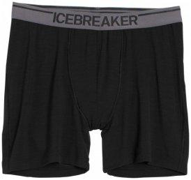 Icebreaker - Anatomica Boxers - Merinounterwäsche Gr L schwarz