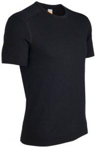 Icebreaker - Oasis S/S Crewe - Funktionsshirt Gr XL schwarz