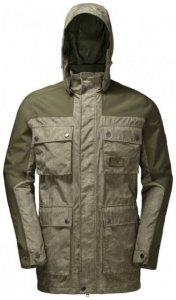 Jack Wolfskin - Cavendish Jacket - Mantel Gr XXL grau/schwarz
