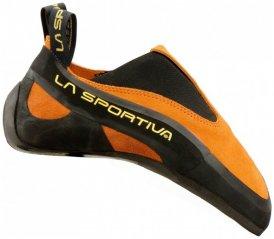 La Sportiva - Cobra Gr 35,5 schwarz/orange