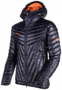 Mammut - Eigerjoch Advanced Insulated Hooded Jacket Gr M schwarz/grau