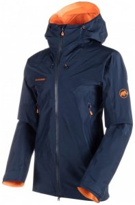 Mammut - Nordwand Advanced Hardshell Hooded Jacket Gr M blau/schwarz