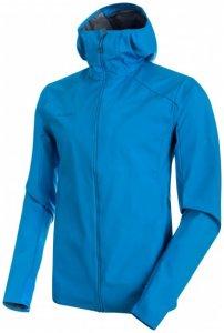 Mammut - Ultimate V Light SO Hooded Jacket - Laufjacke Gr XXL blau