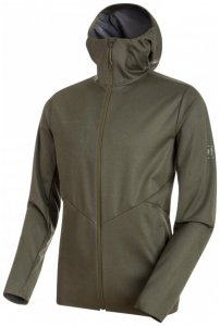Mammut - Ultimate V Tour SO Hooded Jacket - Softshelljacke Gr S oliv