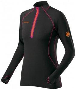 Mammut - Women's Jungfrau Longsleeve - Funktionsshirt Gr L schwarz