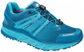 Mammut - Women's MTR 201-ll Max Low - Trailrunningschuhe Gr 5,5 blau/türkis
