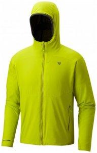 Mountain Hardwear - ATherm Hooded Jacket - Fleecejacke Gr L;M;S;XL schwarz;blau;gelb/grün