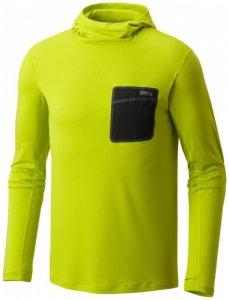 Mountain Hardwear - Metonic Long Sleeve Hoody - Longsleeve Gr XL fresh bud