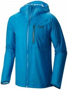 Mountain Hardwear - Supercharger Shell Jacket Gr L;XL blau;grau