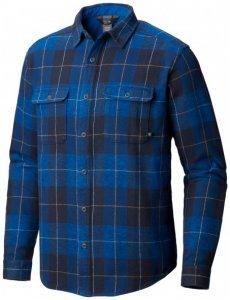 Mountain Hardwear - Walcott Long Sleeve Shirt - Hemd Gr S blau/schwarz