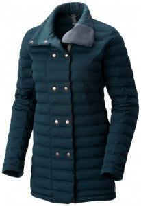 Mountain Hardwear - Women's Stretchdown Coat - Daunenjacke Gr M schwarz