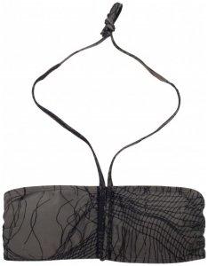Nikita - Women's Crest Bikini Top - Bikini-Top Gr S schwarz/grau