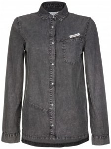 Nikita - Women's Siphon Shirt - Bluse Gr S schwarz/grau