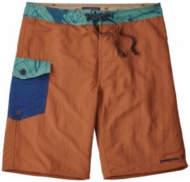 Patagonia - Patch Pocket Wavefarer Boardshorts - Boardshort Gr 34 braun