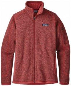 Patagonia - Women's Better Sweater Jacket - Fleecejacke Gr S rot