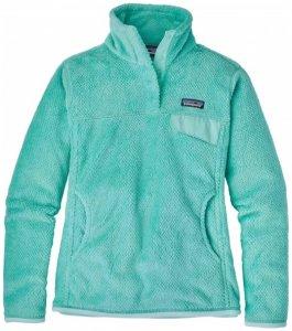 Patagonia - Women's Re-Tool Snap-T Pullover - Fleecepullover Gr M türkis