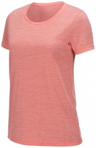 Peak Performance - Women's Civil Merino Tee Gr M rot/beige