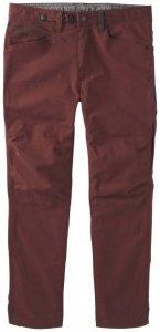 Prana - Continuum Pant - Kletterhose Gr 34 rot/braun