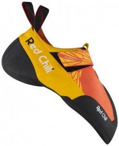 Red Chili - Atomyc 2 - Kletterschuhe Gr 9,5 orange/schwarz