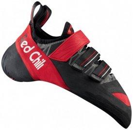 Red Chili - Octan - Kletterschuhe Gr 4 schwarz/rot