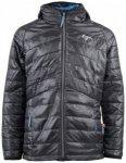 2117 of Sweden - Boy's Light Padded Jacket Rutvik Gr 128 schwarz/grau
