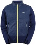 2117 of Sweden - Hybrid Jacket Tassasen - Fleecejacke Gr L;M schwarz;blau