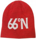 66 North - Fisherman's Cap - Wollmütze Gr One Size rot