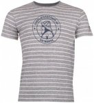 66 North - Original Sailor Logo Striped Tshirt - T-Shirt Gr S grau