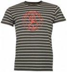 66 North - Original Sailor Logo Striped Tshirt - T-Shirt Gr L schwarz/grau