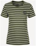 66 North - Women's Logn T-Shirt Small Sailor - T-Shirt Gr XS weiß/oliv