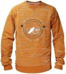 ABK - Cattura Sweat - Pullover Gr M orange/braun/beige