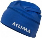 Aclima - LW Beanie - Mütze Gr One Size grau/braun;schwarz;blau