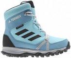 adidas - Kid's Terrex Snow CP CW - Winterschuhe Gr 35,5 - UK 3 blau/türkis