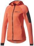 adidas - Women's Terrex Stockhorn Hooded Fleece Jacket Gr 34;36;38;40;42 rot/ros