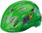 Alpina - Kid's Alpina Ximo Flash - Radhelm Gr 47-51 cm grün