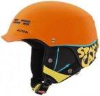 Alpina - Kid's Spam Cap - Skihelm Gr 50-54 cm orange/schwarz