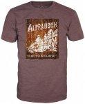 Alprausch - Schneefahrt T-Shirt Gr L rot/braun