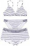 Alprausch - Women's Eglii-Liebi Bikini - Bikini Gr M;XS weiß/grau;schwarz/grau